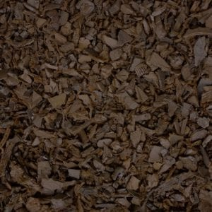 Brown Shredded Rubber Mulch