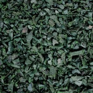 Green Shredded Rubber Mulch