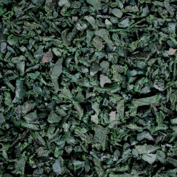Green Shredded Rubber Mulch