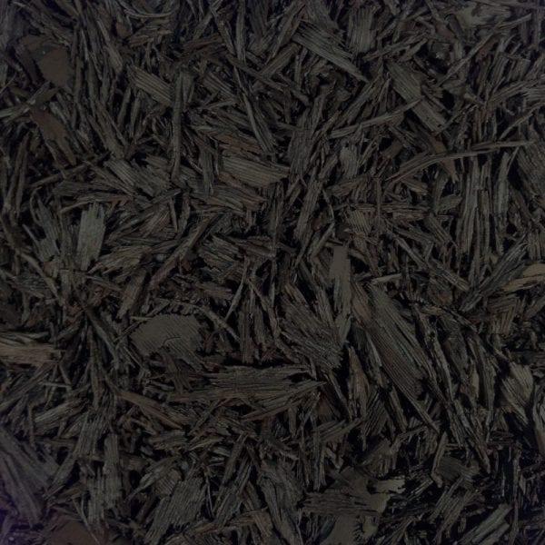 Black Shredded Rubber Mulch