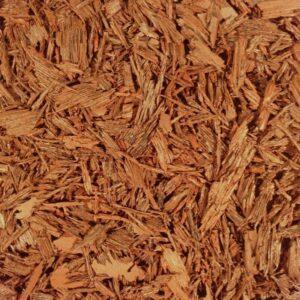 Red Shredded Rubber Mulch
